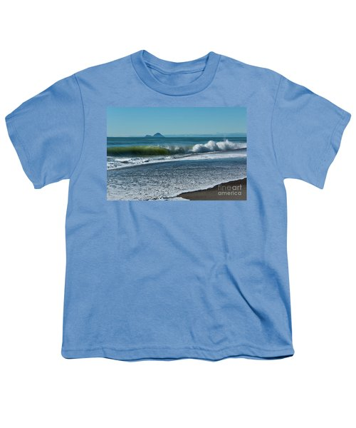 Youth T-Shirt featuring the photograph Whale Island by Werner Padarin