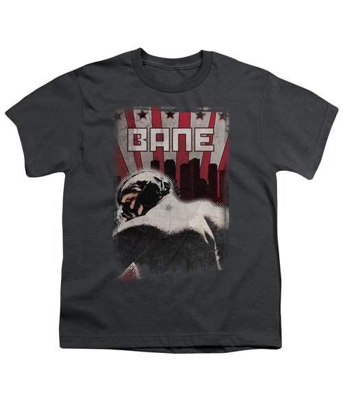 Dark Knight Rises - Bane Poster Youth T-Shirt