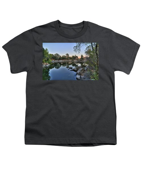 Youth T-Shirt featuring the photograph The Quinn Quarry by Jim Thompson