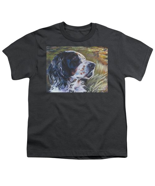 English Setter Youth T-Shirt