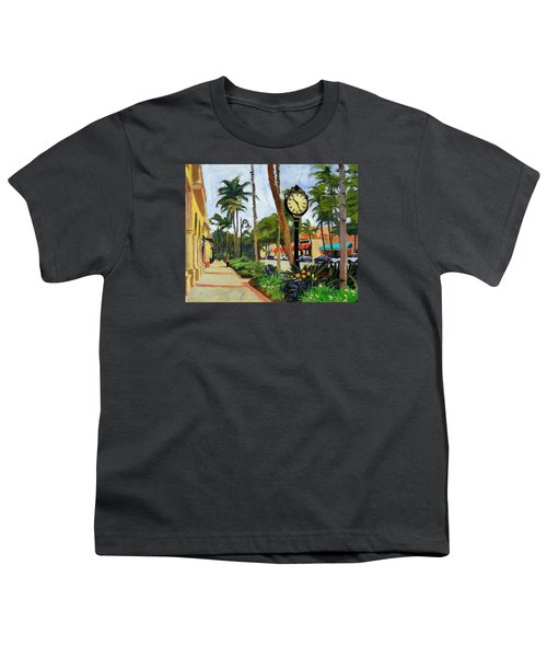 5th Avenue Naples Florida Youth T-Shirt