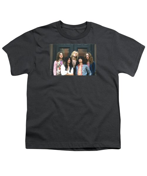 Aerosmith - Boston 1973 Youth T-Shirt by Epic Rights