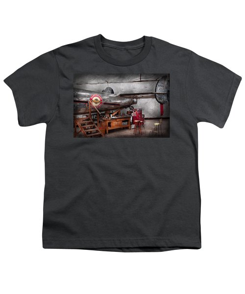 Airplane - The Repair Hanger  Youth T-Shirt