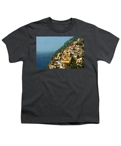 Amalfi Coast Hillside II Youth T-Shirt