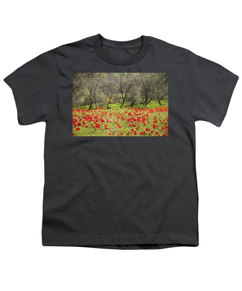 At Ruchama Forest Israel Youth T-Shirt