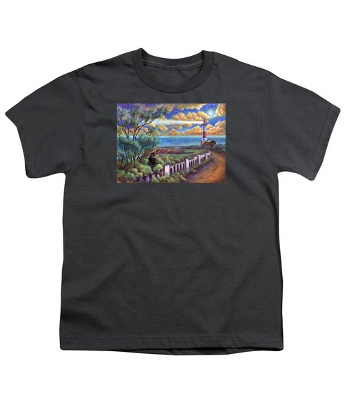 Beacons In The Moonlight Youth T-Shirt