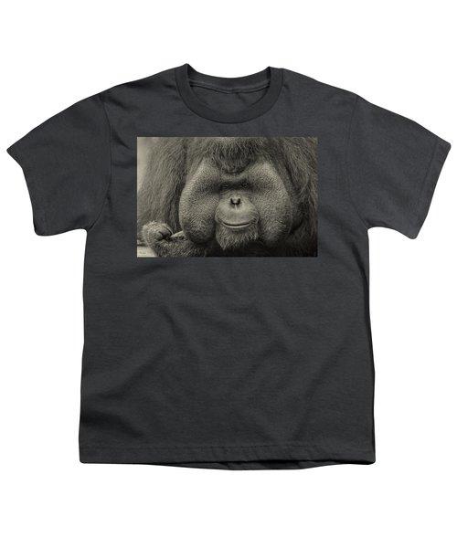 Bornean Orangutan II Youth T-Shirt