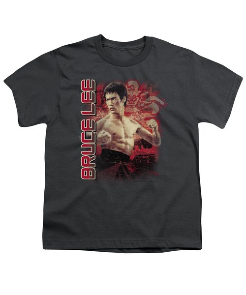 Bruce Lee - Fury Youth T-Shirt by Brand A