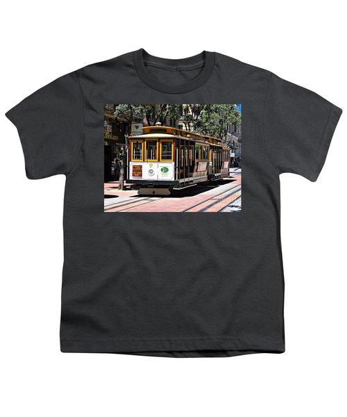 Cable Car - San Francisco Youth T-Shirt