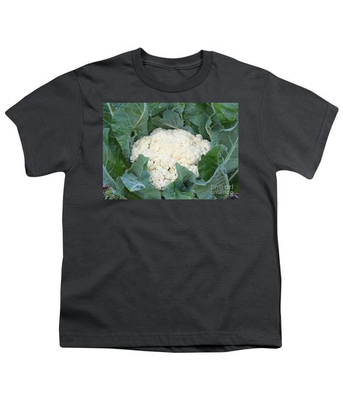 Cauliflower Youth T-Shirt by Carol Groenen