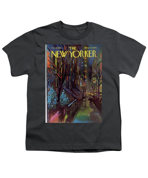 Christmas In New York Youth T-Shirt