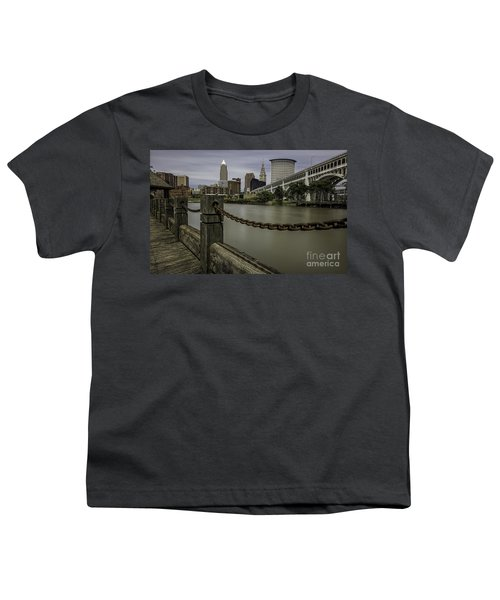 Cleveland Ohio Youth T-Shirt by James Dean
