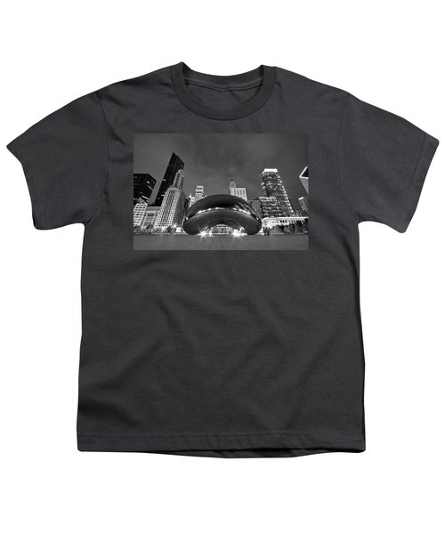 Cloud Gate And Skyline Youth T-Shirt
