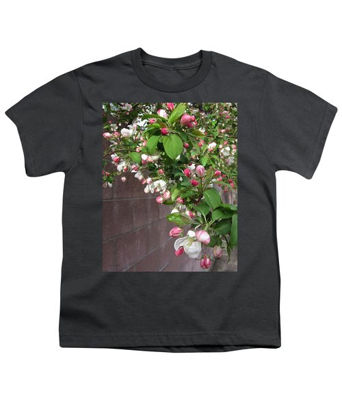 Crabapple Blossoms And Wall Youth T-Shirt