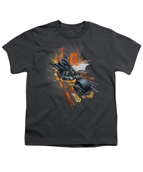 Dark Knight Rises - Batpod Youth T-Shirt