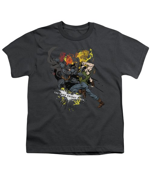 Dark Knight Rises - Fight For Gotham Youth T-Shirt
