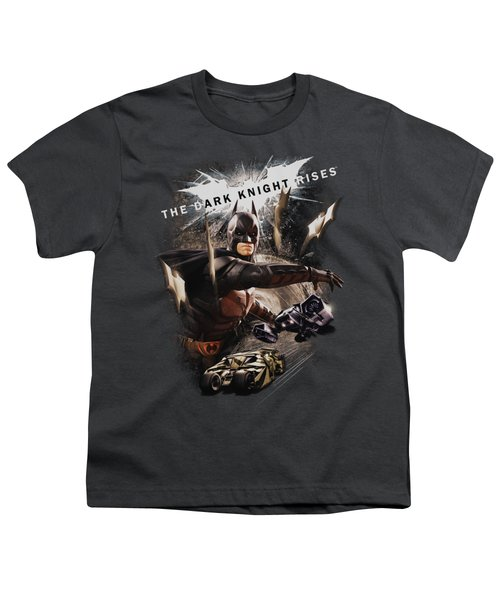 Dark Knight Rises - Imagine The Fire Youth T-Shirt