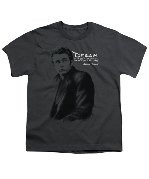 Dean - Trench Youth T-Shirt by Brand A