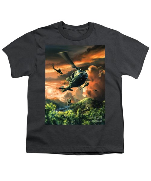 Descent Into The A Shau Valley Youth T-Shirt