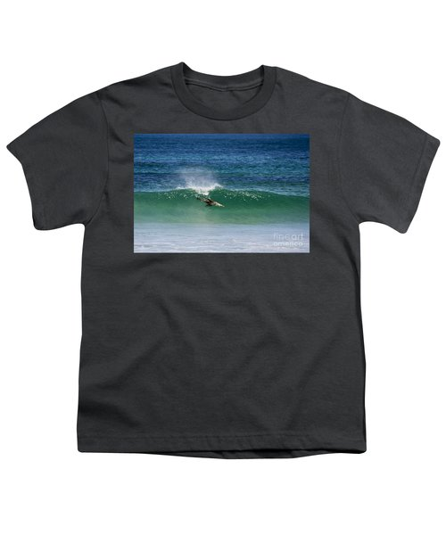 Diving Beneath The Curl Youth T-Shirt