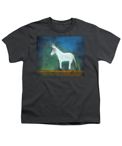 Donkey, 2011 Oil On Canvas Youth T-Shirt by Roya Salari