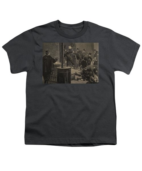 Etievant, The Anarchist Shoots Youth T-Shirt