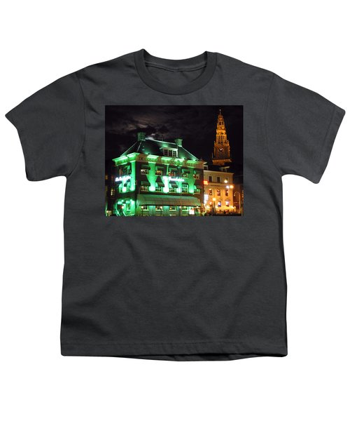 Grasshopper Bar Youth T-Shirt by Adam Romanowicz