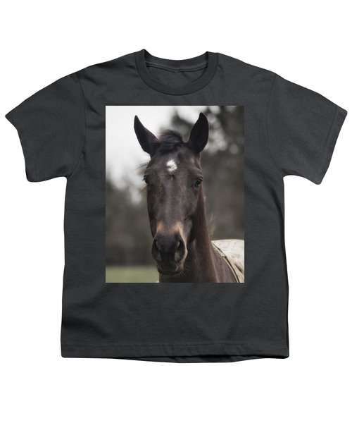 Horse With Gentle Eyes Youth T-Shirt