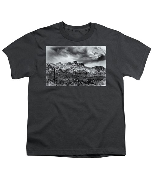 Youth T-Shirt featuring the photograph Into Clouds by Mark Myhaver