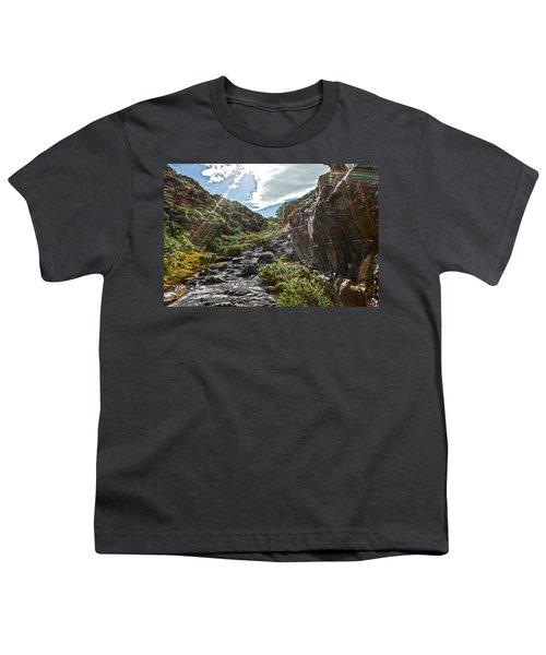 Youth T-Shirt featuring the photograph Its Raining Rainbows by Miroslava Jurcik