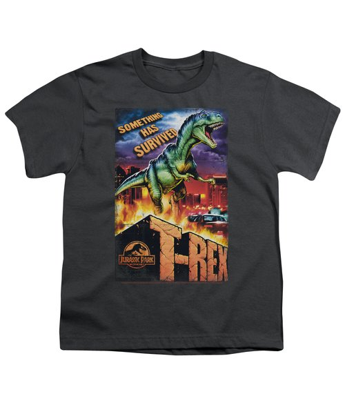 Jurassic Park - Rex In The City Youth T-Shirt