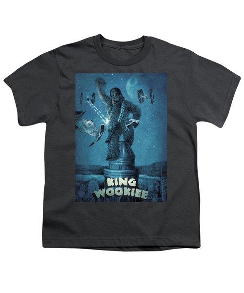 King Wookiee Youth T-Shirt by Eric Fan