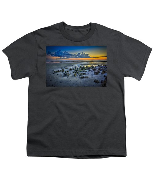 Low Tide On The Bay Youth T-Shirt