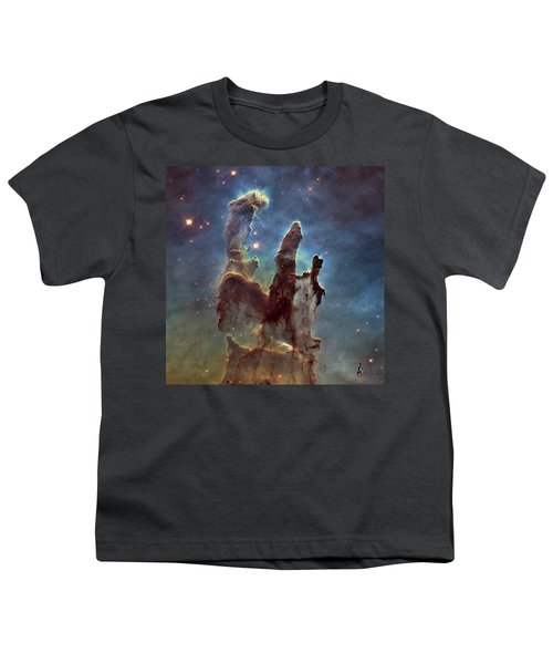 New Pillars Of Creation Hd Square Youth T-Shirt by Adam Romanowicz