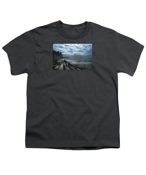 Ocean Beach Pacific Northwest Youth T-Shirt