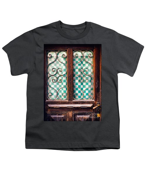 Youth T-Shirt featuring the photograph Old Door by Silvia Ganora