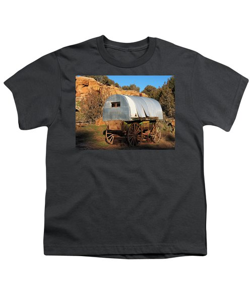 Old Sheepherder's Wagon Youth T-Shirt