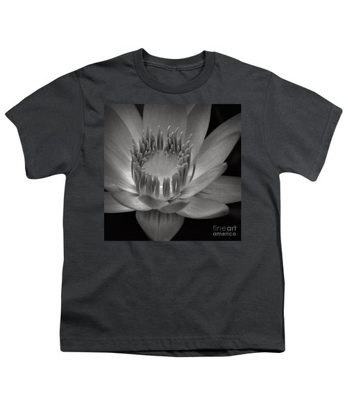 Om Mani Padme Hum Hail To The Jewel In The Lotus Youth T-Shirt by Sharon Mau