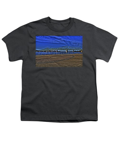 Youth T-Shirt featuring the photograph Parkersburg Point Park by Jonny D