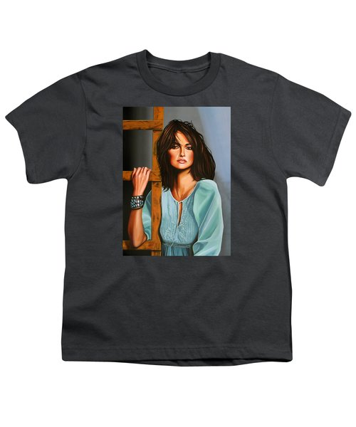 Penelope Cruz Youth T-Shirt by Paul Meijering