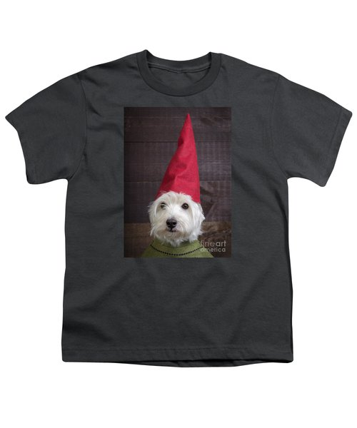 Portrait Of A Garden Gnome Youth T-Shirt