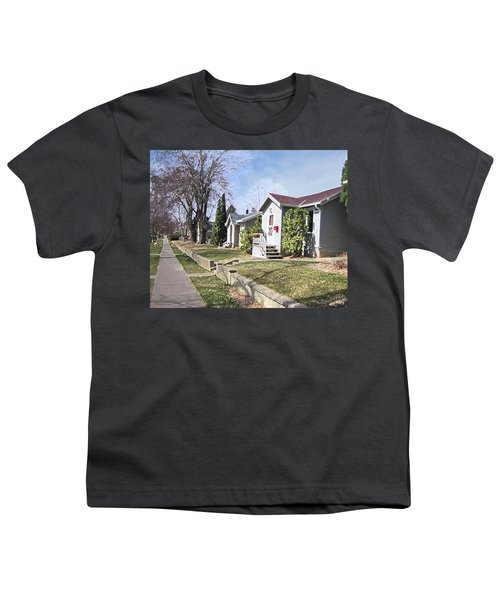 Quiet Street Waiting For Spring Youth T-Shirt