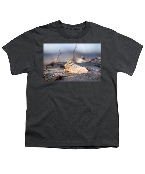 Remnants Of Icarus Youth T-Shirt by Bill Pevlor