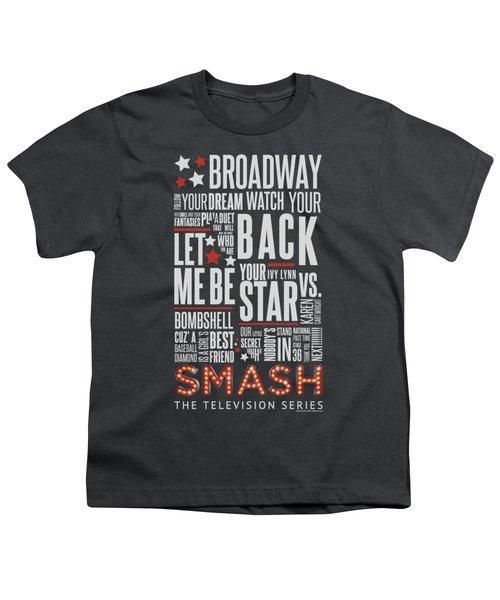 Smash - Broadway Youth T-Shirt