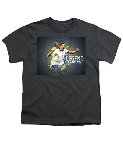 Steven Gerrard Youth T-Shirt