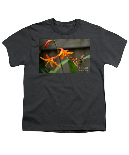 Sunny Crocosmia Youth T-Shirt