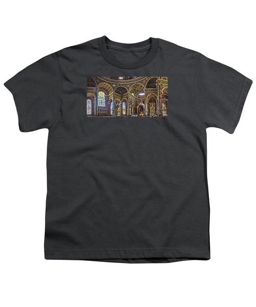 The Basilica Of St. Josaphat Youth T-Shirt