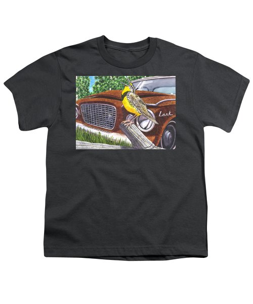 The Meadowlarks Youth T-Shirt by Catherine G McElroy