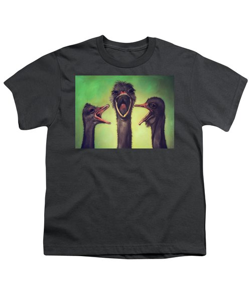 The Singers Youth T-Shirt by Leah Saulnier The Painting Maniac