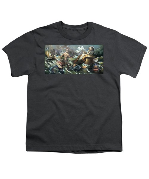 There's Something Fowl Afloat Youth T-Shirt by Patrick Anthony Pierson